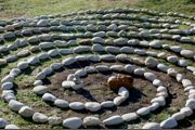 Beach Pebble Labyrinth
